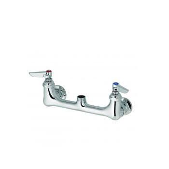 T&S Brass B-0230-LN Swivel Base Faucet, Less Nozzle - Chrome