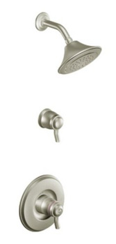 Moen TS8115BN Rothbury ExactTemp Thermostatic Shower Trim Only - Brushed Nickel