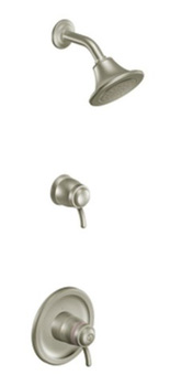 Moen TS9115BN Icon ExactTemp Thermostatic Shower Trim Only - Brushed Nickel