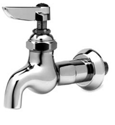 T&S Brass B-0715 Single Sink Faucet - Chrome