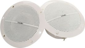 ThermaSol HOM-SPK-WHT Shower Proof Speakers - White