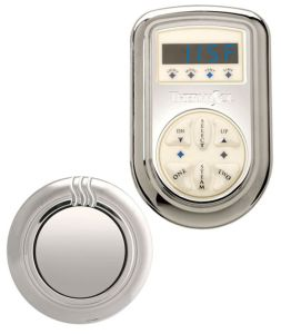 ThermaSol SET-NTS-ORB Signature Series Kit - Traditional Digital Control & Steamhead - Oil Rubbed Bronze (Pictured in Polished Chrome)