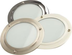 ThermaSol SL-SB In-Shower Light - Satin Brass