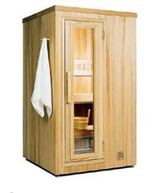 ThermaSol TMS44BIC Traditional Sauna Room (4x4) - Modular