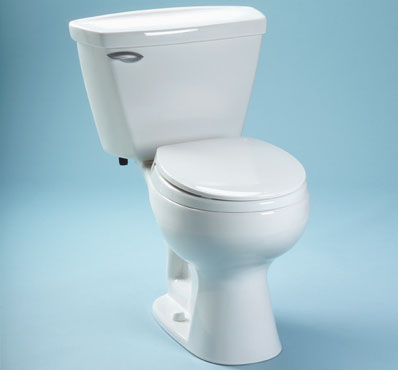 Toto CST733F-03 Dalton Suite Two Piece Round Toilet - Bone (Pictured in Cotton White)