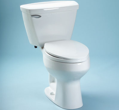 Toto CST734F-03 Dalton Suite Two Piece Elongated Toilet - Bone (Pictured in Cotton White)