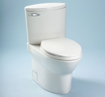 Toto CST804S-03 Pacifica Suite Two Piece Elongated Toilet - Bone (Pictured in Cotton White)