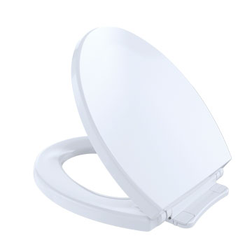 Toto SS113-01 SoftClose Round Toilet Seat - Cotton White