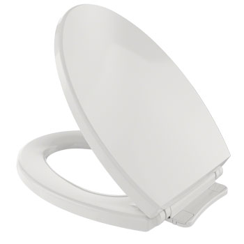 Toto SS114-11 SoftClose Elongated Toilet Seat - Colonial White
