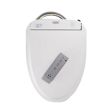 Toto SW584-01 Washlet S350e Elongated Toilet Seat with eWater+ - Cotton White