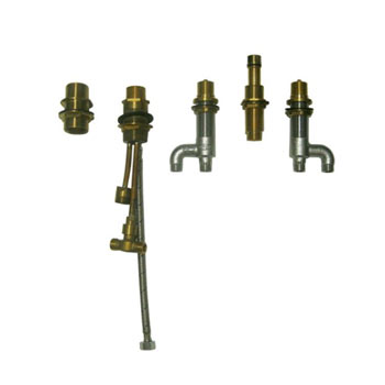 toto tb6fr deck mount bath faucet with lever handles hand shower and diverte. Black Bedroom Furniture Sets. Home Design Ideas