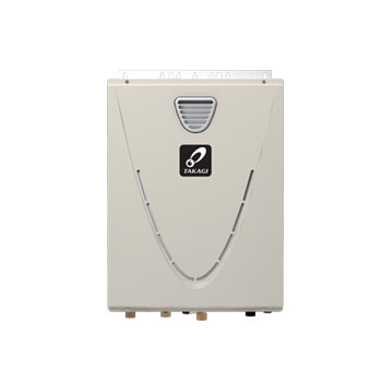 Takagi TK-540P-NEH 199,000 BTU Natural Gas Outdoor Condensing Ultra-Low NOx Tankless Water Heater