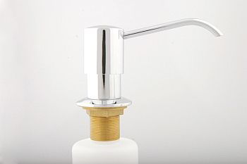 Trim By Design TBD131.20 Heavy-Duty Soap & Lotion Dispenser - Stainless Steel (Pictured in Polished Chrome)