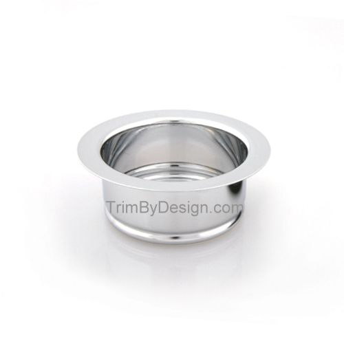 Trim By Design TBD140.17 Garbage Disposer Flange - Brushed Nickel (Pictured in Polished Chrome)