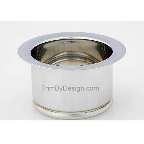 Trim By Design TBD143.17 Extended Garbage Disposer Flange - Brushed Nickel (Pictured in Polished Chrome)