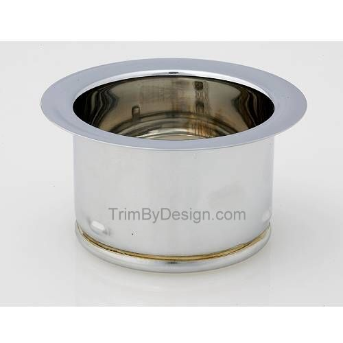 Trim By Design TBD144.20 Extended Garbage Disposer Flange - Stainless Steel (Pictured in Polished Chrome)