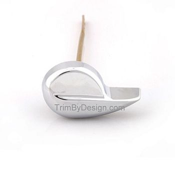 Trim By Design TBD602.17 Toto Type Tank Lever - Brushed Nickel (Pictured in Polished Chrome)