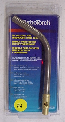 TurboTorch ST-4 Propane and Mapp Torch Tip
