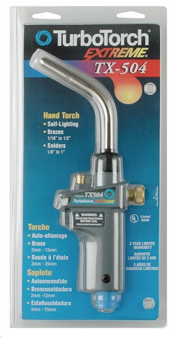 TurboTorch TX504 Self Lighting Hand Tourch