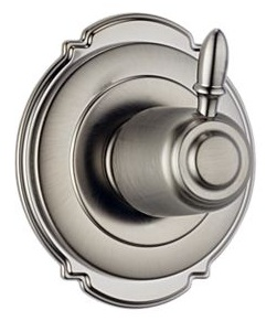 Delta T11855-SS Victorian 3 Setting Diverter Trim - Stainless Steel