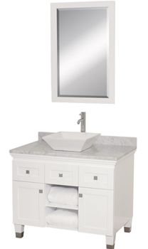 Wyndham Collection WC-CG5000-36-WHT Premiere 36