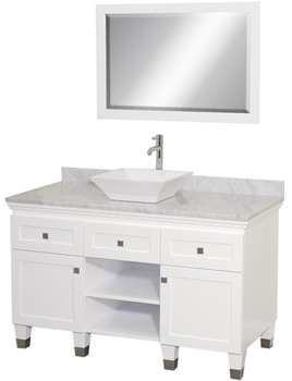 Wyndham Collection WC-CG5000-48-WHT Premiere 48