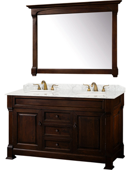 Wyndham Collection WC-TD60-DKCH Andover 60