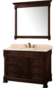 Wyndham Collection WC-TS48-DKCH Andover 48