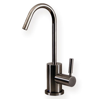 Whitehaus WHFH-C1403STS-SOSS Drinking Water Faucet - Solid Stainless Steel