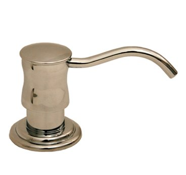 Whitehaus WHSD45N-ACO Vintage III Solid Brass Soap/Lotion Dispenser - Antique Copper (Pictured in Polished Chrome)