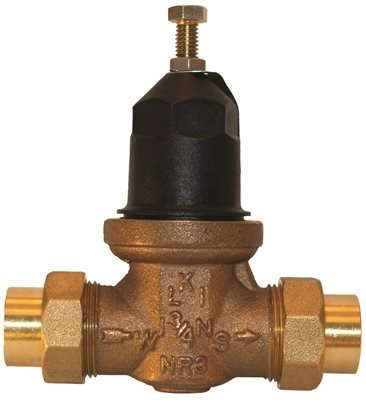 wilkins nr3xlduc 1 1 4 water pressure reducing valve double union female cu swt lead free. Black Bedroom Furniture Sets. Home Design Ideas