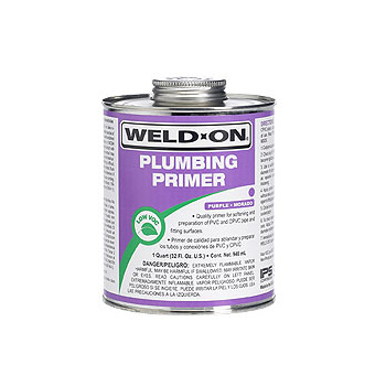 Weld-On 14024 Plumbing Primer - 1 Gallon