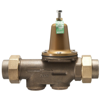Watts LF25AUB-DU-Z3 1-1/4 inch  Lead Free Water Pressure Reducing Valve (0009353)