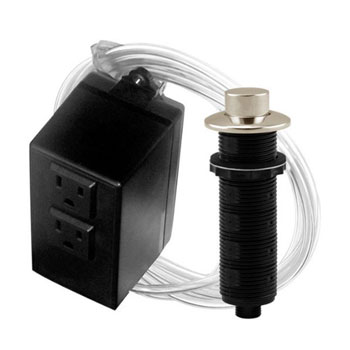 Westbrass Asb 2 Rb 20 Raised Button Air Switch And Dual