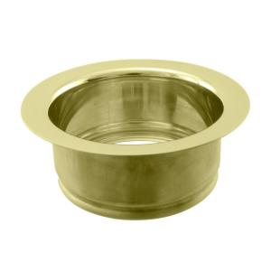 Westbrass D208-01 In-Sink-Erator Disposal Flange - Polished Brass