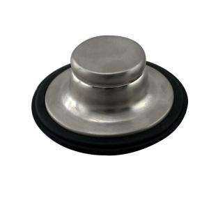 Westbrass D209-07 In-Sink-Erator Disposal Stopper - Satin Nickel