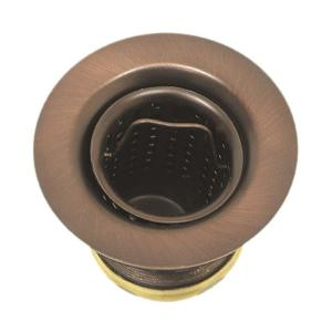 Westbrass D218-11 Junior Basket Strainer - Antique Copper