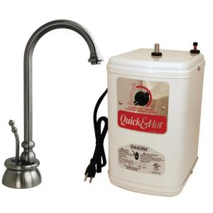 Westbrass D261H-07 Calorah Hot Water Dispenser Kit - Satin Nickel