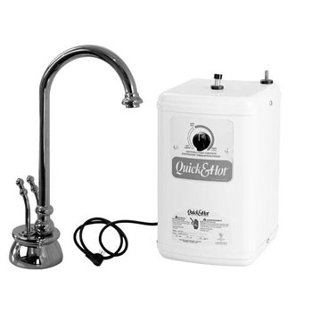 Westbrass D262H-07 Docalorah Hot/Cold Water Dispenser Kit - Satin Nickel