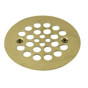 Westbrass D3193-03 Plastic Oddities Shower Strainer - Polished Brass