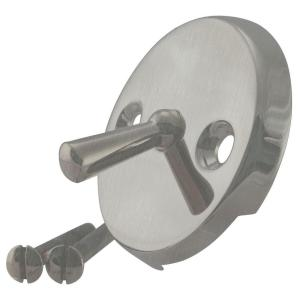 Westbrass D330-07 Round Trip Lever Style Faceplate with Screws - Satin Nickel