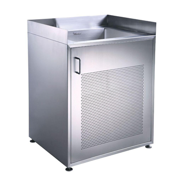 18 Inch Utility Sink With Cabinet : Whitehaus WHNC30CAB 25