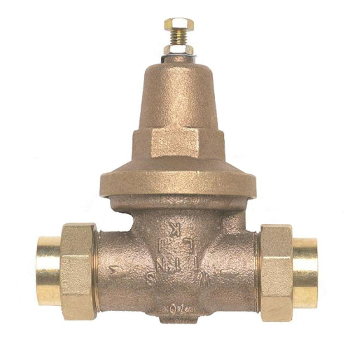 Wilkins 70XLDUC 1 inch  Water Pressure Reducing Valve with Double Union Female Copper Sweat - Lead Free