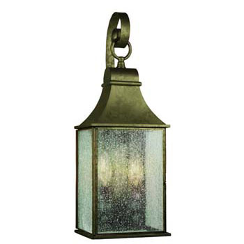 World Imports WI-61308-06 Revere 2 Light Exterior Wall Lantern - Flemish