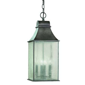 World Imports WI-61310-06 Revere 4 Light Exterior Hanging Lantern - Flemish