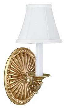 World Imports WI-6207-14 Sconce 1 Light Wall Sconce - French Gold