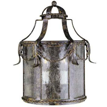 World Imports WI-8412-58 Medici 2 Light Exterior Wall Lantern - Oxide Bronze