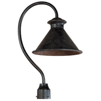 World Imports 9001-89 Dark Sky Essen 1 Light Outdoor Post Lamp - Bronze