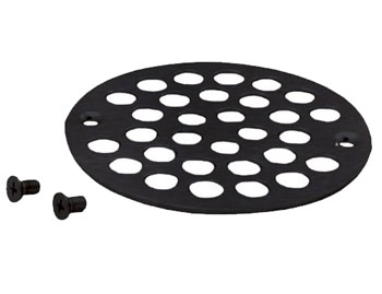 Belle Foret NSD01ORB Shower Strainer with Screws - Oil Rubbed Bronze