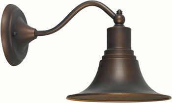 World Imports WI-9096-86 Dark Sky Kingston 1 Light Outdoor Wall Sconce - Antique Copper